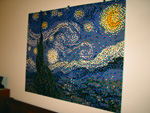 Starry Night -- in LEGO!